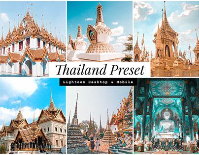 Thailand Lightroom Presets – Vibrant Version