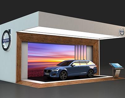Volvo Outdoor Display Concepts