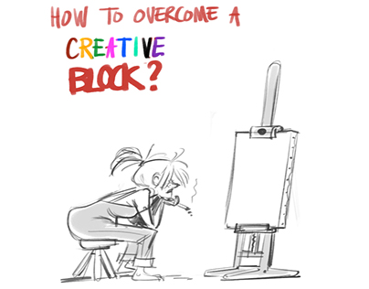How to overcome a creative block?