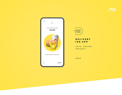 D Burger - UX/UI Design Delivery App