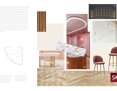 Concept Proposal for Commercial Retail Interior