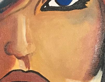 Blue eyes by Dams Domido