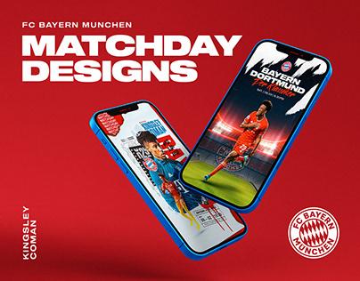 Matchday designs | Bayern Munchen