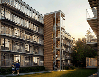 3D exterior visualization of RC - Denmark