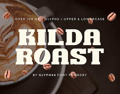KILDA ROAST | Slab Typeface