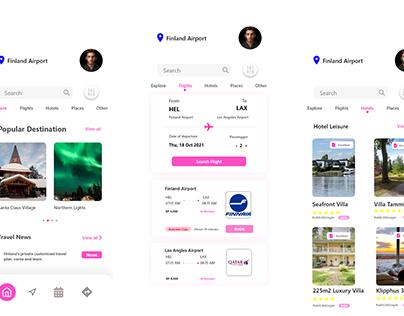 Go On Expedition - Travel Organization App
