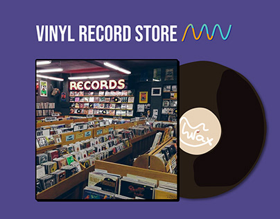 WAX Vinyl Record Store