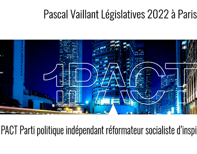 Pascal Vaillant, 2022 Parlement Event
