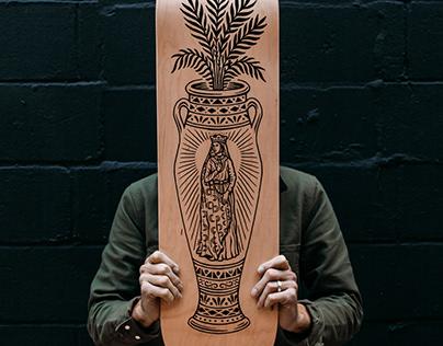 BadUtility Skateboard