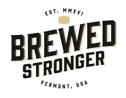 Brewed Stronger Logo