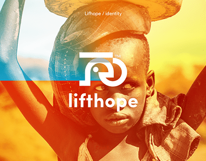 Lifthope charity brand identity / branding