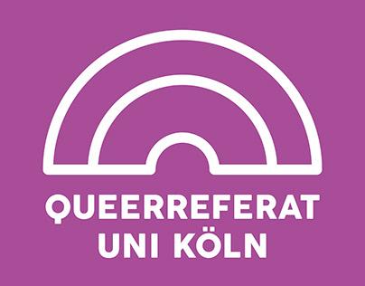 Queerreferat Uni Köln - Logo