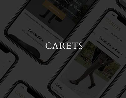 Carets