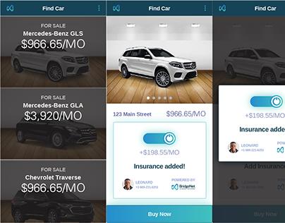 Mobile App UI Design and Animation - BridgeNet
