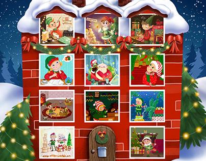 Santa Claus house 2020