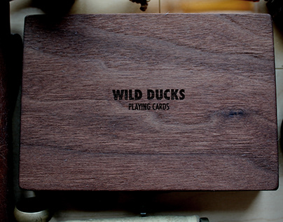 Wild Ducks Playing Cards Box