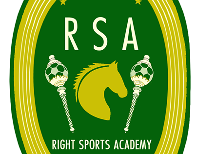 Logo design - Right Sports Academy