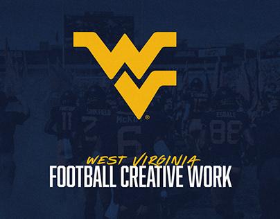 WVU Football Creative - 2019 Season