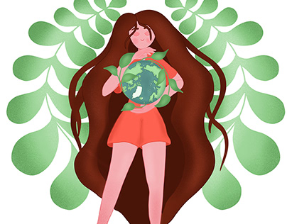 Illustrations for eco-friendly products