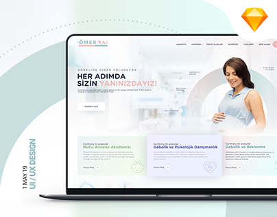 Clinic UI and UX Design