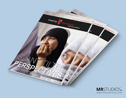 Magazine Design for Leaping Boundaries