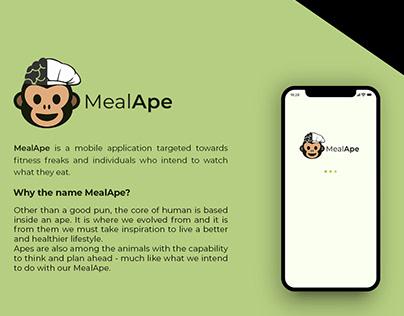 MealApe - UI/UX Design