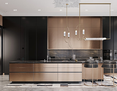 Black&Bronze Kitchen