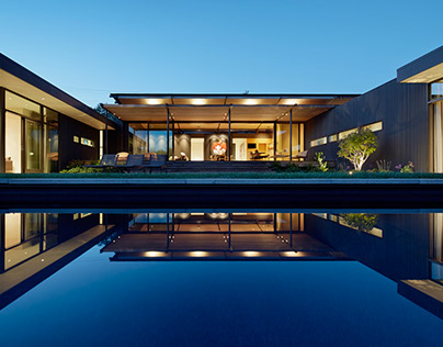 Mill Valley Courtyard Residence