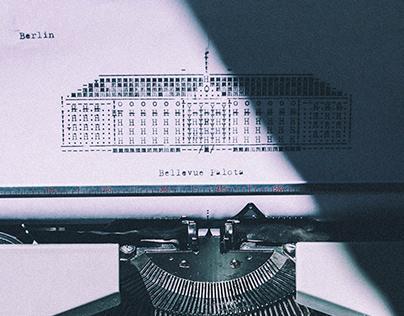 Typewriter illustrations