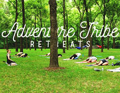 Adventure Tribe Retreats Branding and Merch Design