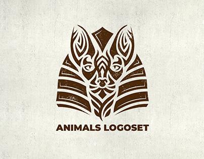 ANIMALS LOGOSET