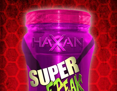 HAXAN - SUPER FREAK PRE-WORKOUT