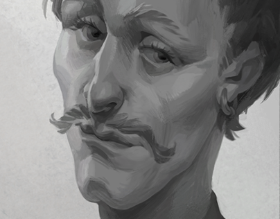 Don Quixote portrait