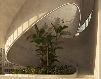 Tropical Staircase