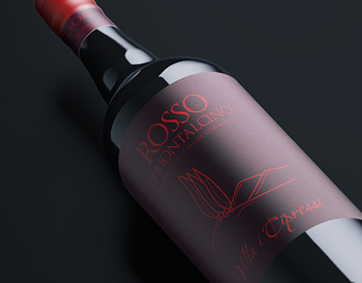 Rosso & Brunello di Montalcino // New Label Design