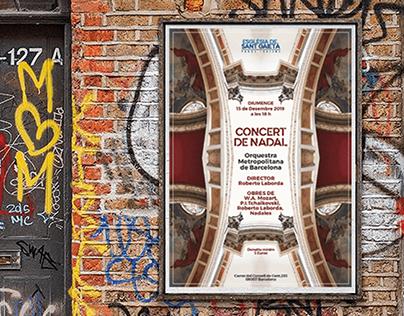 Poster Design for Orquestra Metropolitana de Barcelona