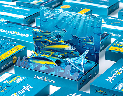 Mare Aperto - Limited edition Packaging