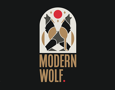 Modern Wolf Logo and Brand Guidelines