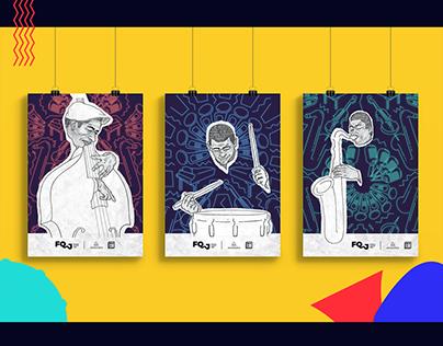Posters | Press Kit Festival Quintal Jazz