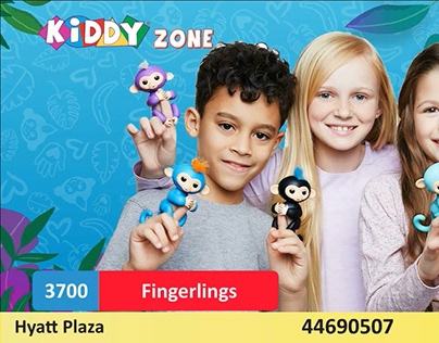 Fingerlings Video For Social Media Promotion