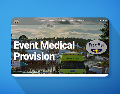 Website for Event Management Company