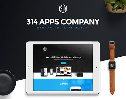 314 Rebranding&Redesign