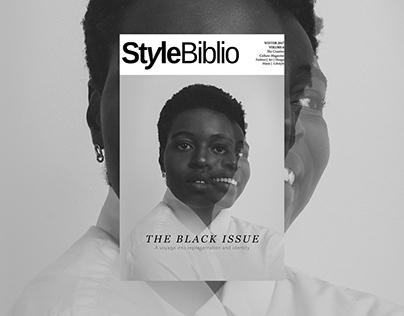 The Black Issue - Style Biblio Magazine