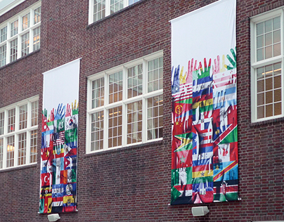 Banners for Francis L. Cardozo Education Campus, 2013