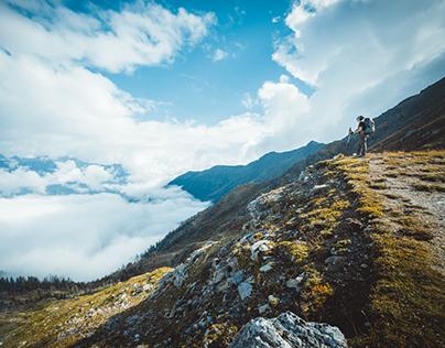Crossing the alps - E5
