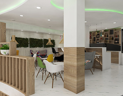 Coffee Bar Monne Interior Design