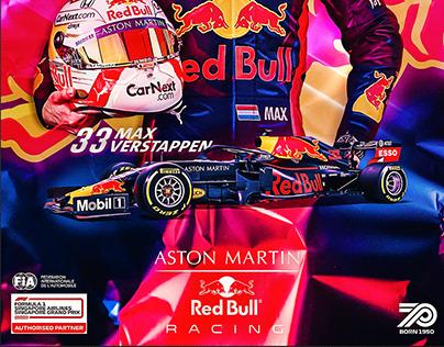 formula1 2020 _ Red Bull Racing team poster