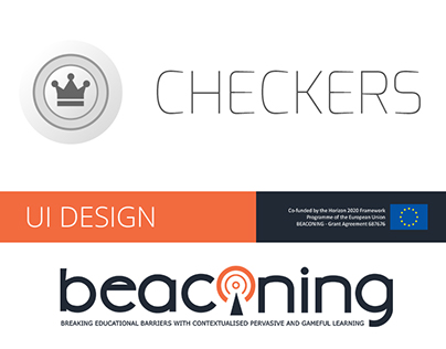 Checkers - A Beaconing game