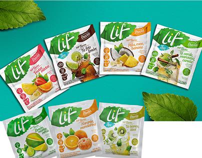 LIF • naming • branding •packaging