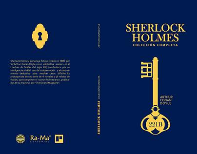 Sherlock Holmes - Book Cover